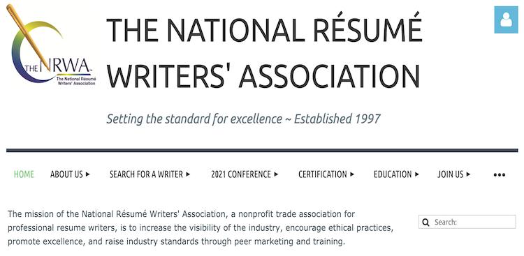 NRWA: National Resume Writers' Association