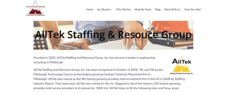 AllTek - Best Engineering Staffing Agency