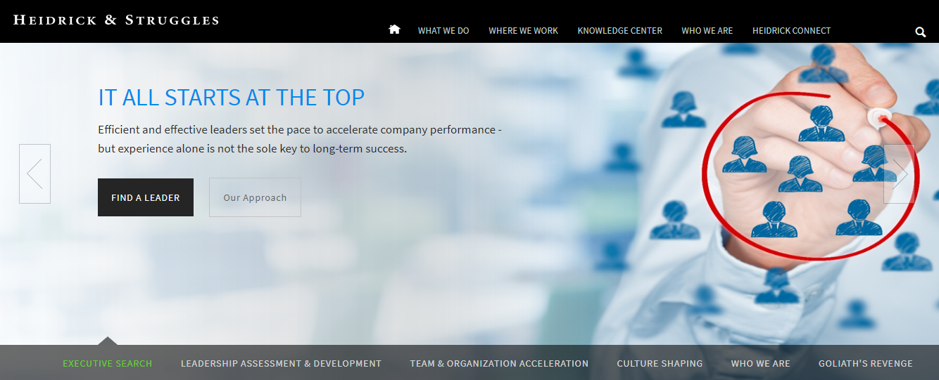 Heidrick & Struggles - Executive Search Firm