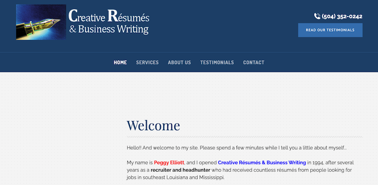 Creative Resumes & Business Writing - Best New Orleans Resume Service