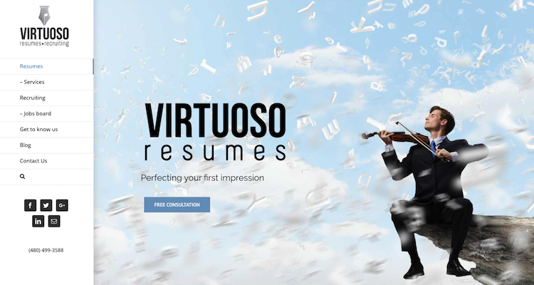 Virtuoso Resumes - Best Tucson Resume Services