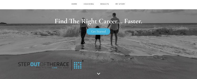 Step Out of the Race - Best San Diego Career Coach