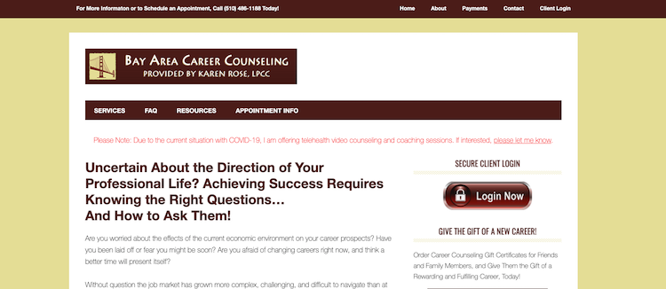 Bay Area Counseling - Best San Francisco Career Coach