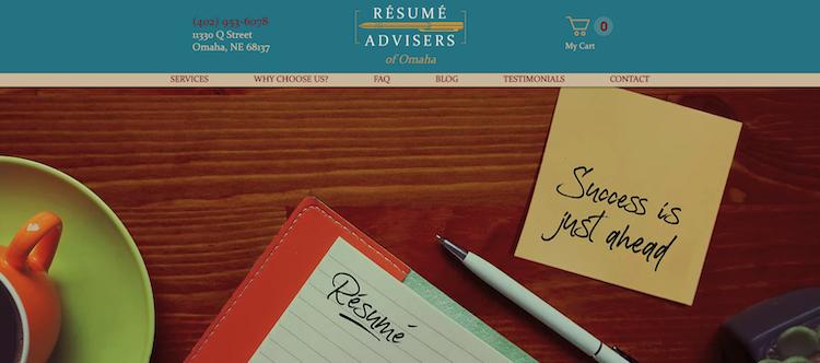 Resume Advisers - Best Omaha Resume Service