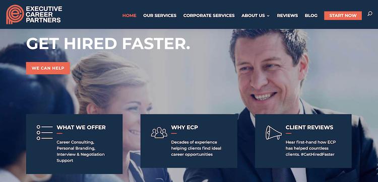 Executive Career Partners - Best C-Level Resume Service