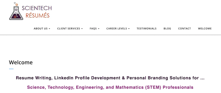 Scientech Resumes - Best Engineer Resume Service