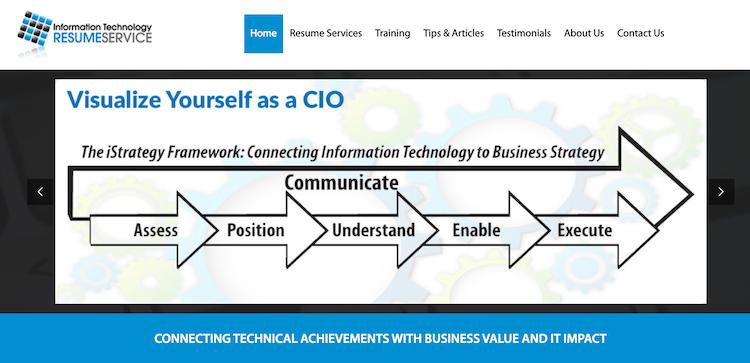 Information Technology Resume Service - Best CTO Resume Service