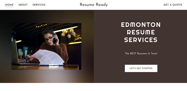 Resume Ready - Best Edmonton Resume Service