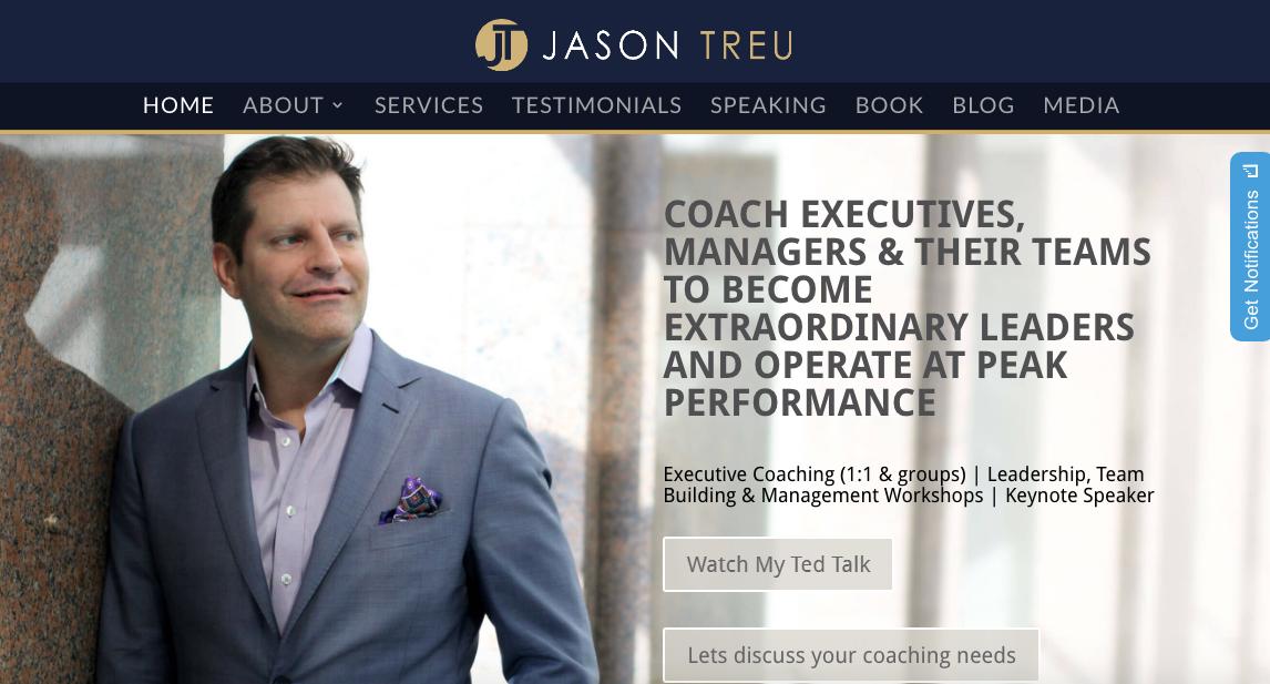 Jason Treu - Best Executive Career Coach