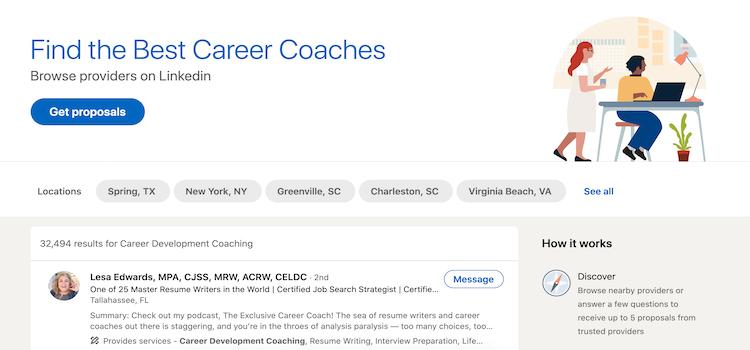 LinkedIn ProFinder - Best Career Coach