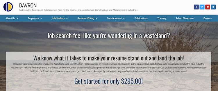 Davron - Best Engineer Resume Service
