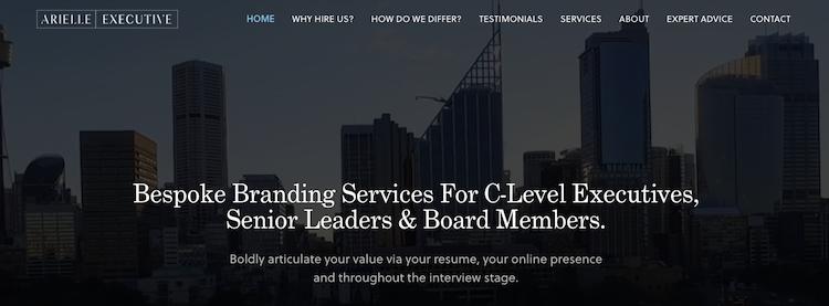 Arielle Executive - Best Melbourne Resume Service
