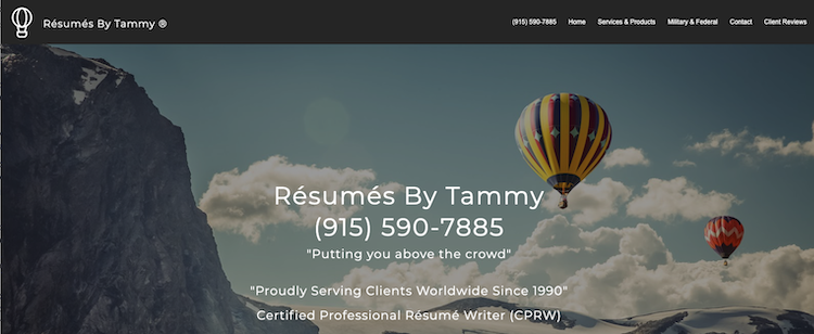 Resumes By Tammy - Best El Paso Resume Service