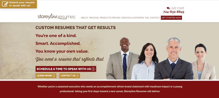 Storeyline Resumes - Best Pittsburg Resume Services