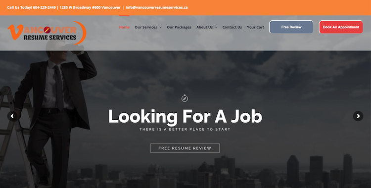 Vancouver Resume Services Inc. - Best Vancouver Resume Services