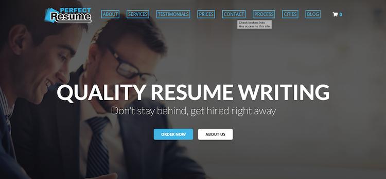 Perfect Resume - Best Ottawa Resume Service