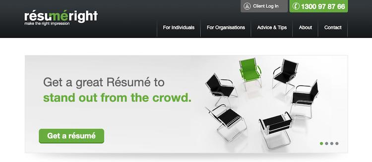 Resume Right - Best Melbourne Resume Service