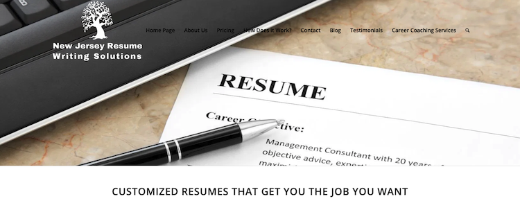 NJ Resume Writing Solutions - Best New Jersey Resume Service