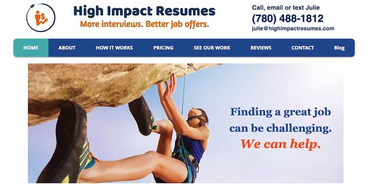 High Impact Resumes - Best Edmonton Resume Service