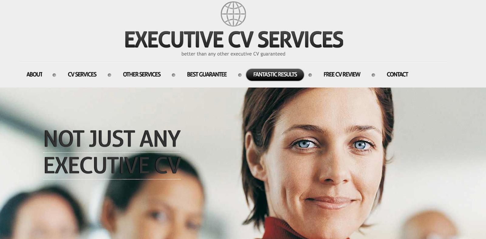 Executive CV Services - CV Writing Services UK