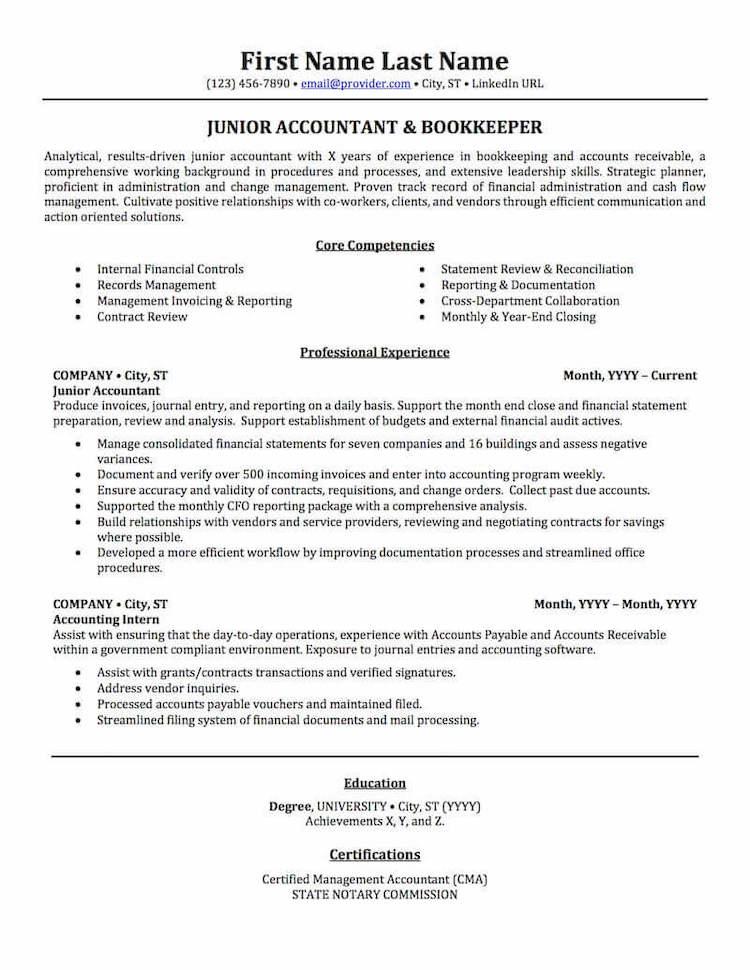 TopResume - Resume Sample