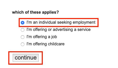 Craigslist Resumes: How to Post a Resume on Craigslist