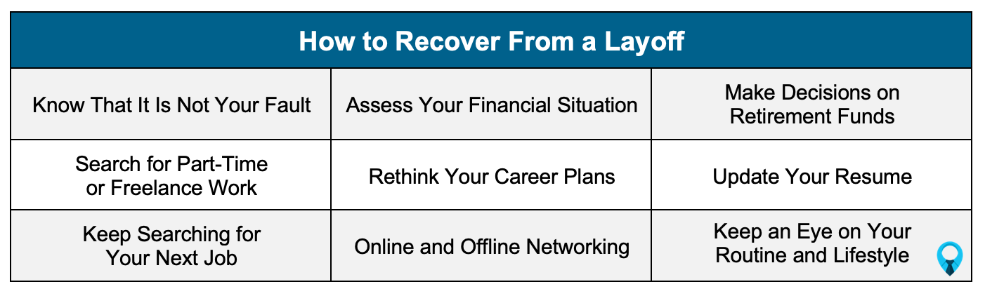 How to recover from a layoff