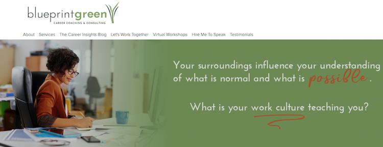 Blueprintgreen Career Coaching & Consulting - Best Washington DC Resume Services