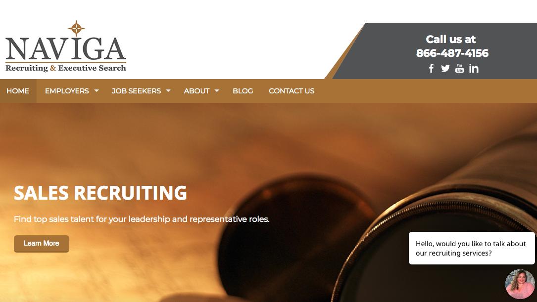 Naviga Recruiting & Executive Search - Sales Resume Service