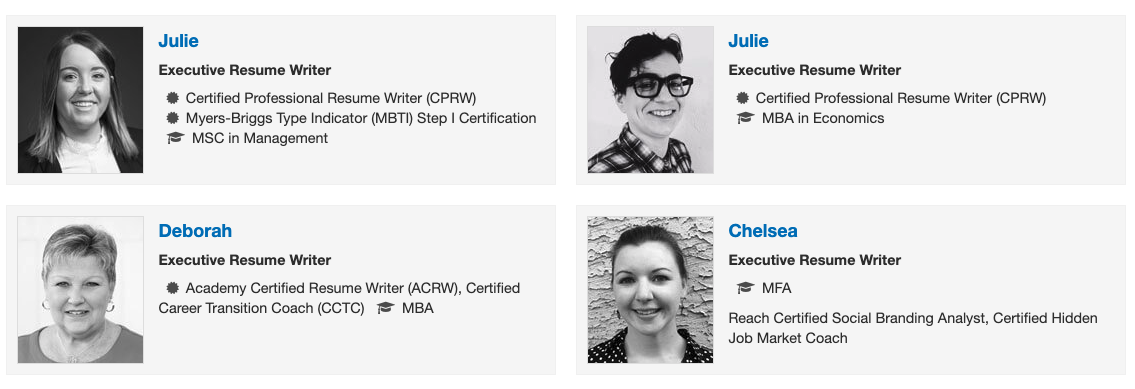 Great Resumes Fast Writing Team