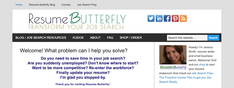 Resume Butterfly - Best Fort Worth Resume Service