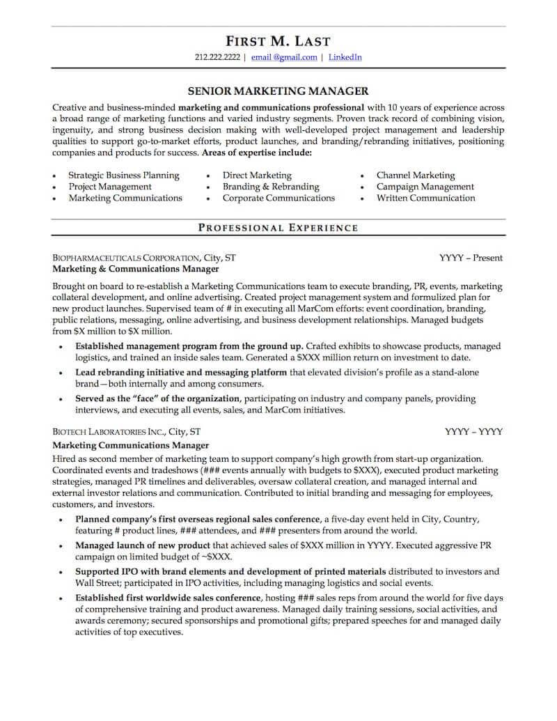Best Affordable Resume Service - Sample 2