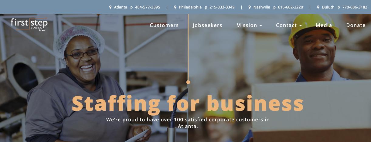 First Step Staffing - Best Atlanta Staffing Agencies