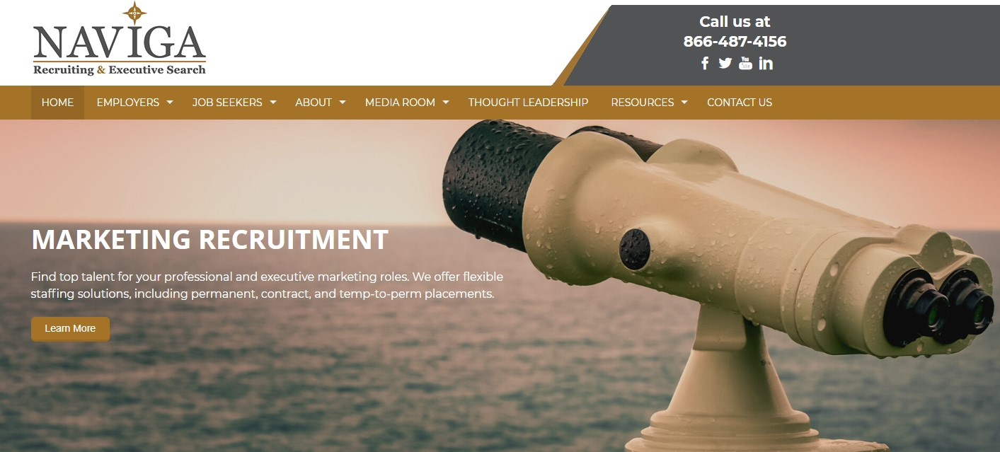 Naviga Recruiting & Executive Search - Best Tampa Staffing Services