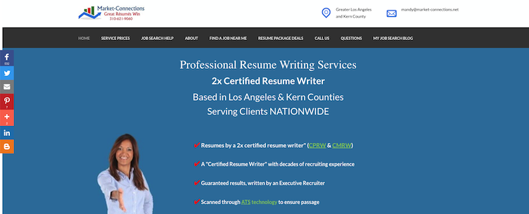 Market-Connections - Best Director Resume Service