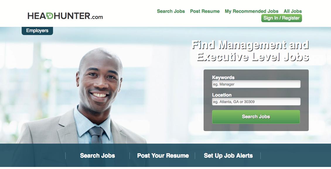 Headhunter - Executive Job Search Site