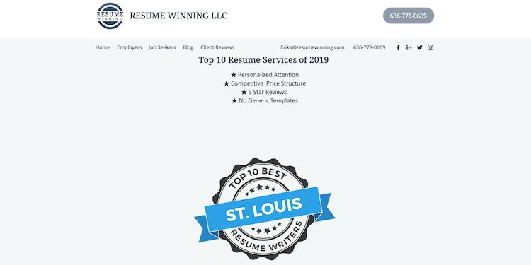 Resume Winning - Best St. Louis Resume Services