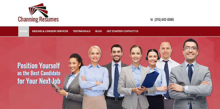 Channing Resumes - Best Philadelphia Resume Service