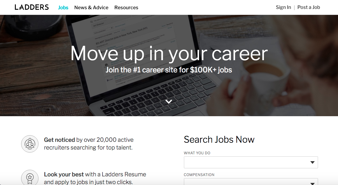 Ladders - Executive Job Search Site