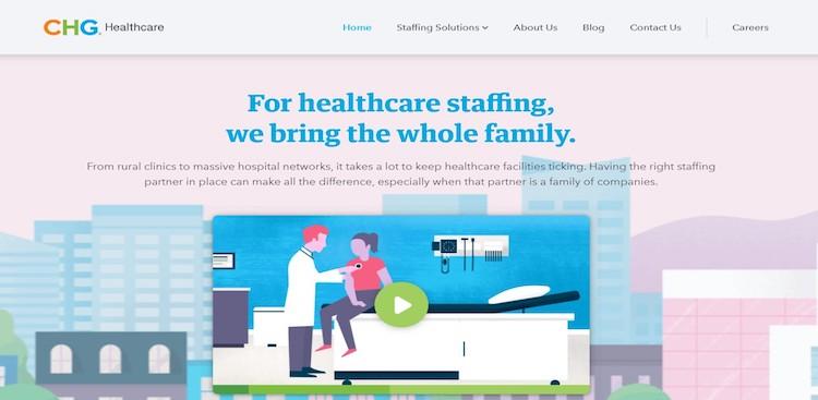 CHG Healthcare - Best Medical Staffing Agencies