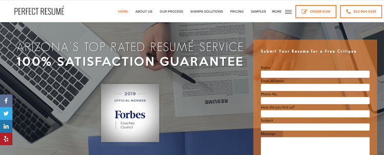 Perfect Resume - Best Marketing Resume Service