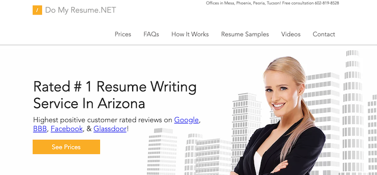 Do My Resume.NET - Best Tucson Resume Services