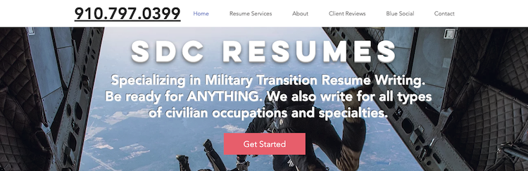 SDC Resumes - Best Military to Civilian Resume Service
