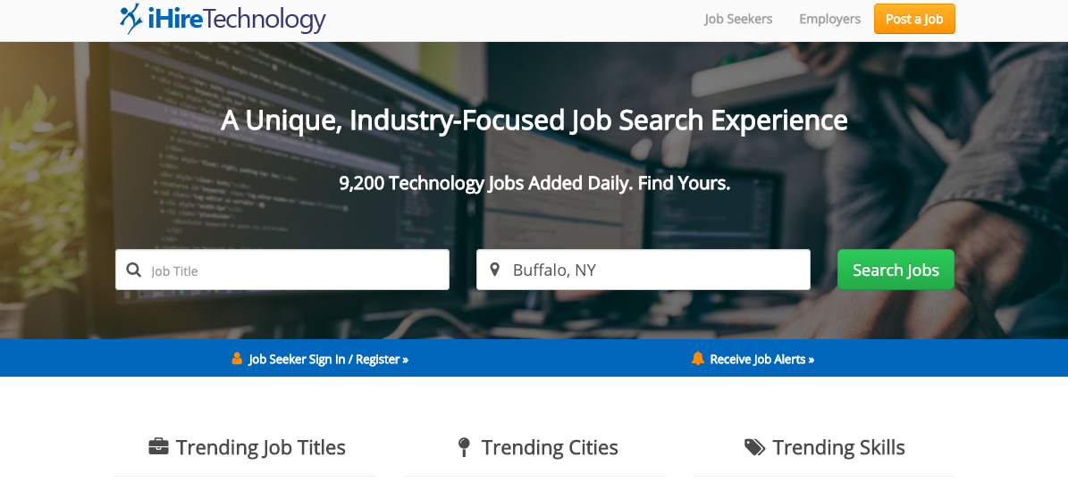 iHire Technology - Information Technology Resume Services