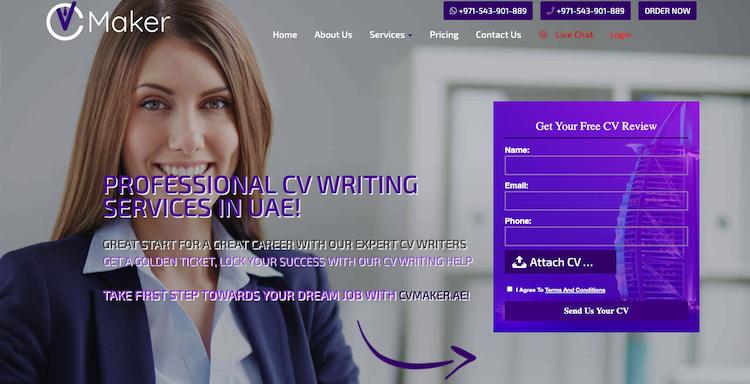 CV Maker - Best Dubai Resume Service