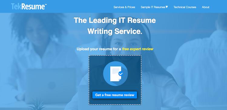 Tek Resume - Best Software Engineer Resume Service