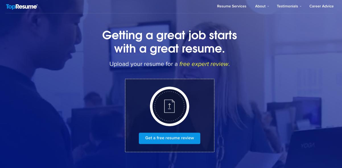TopResume - Best Affordable Resume Service