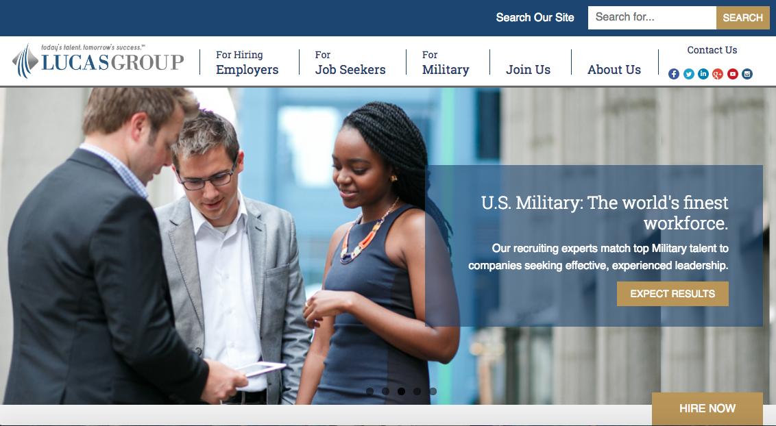 Lucasgroup - Executive Job Search Site