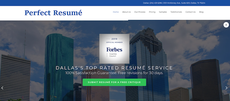 Perfect Resume - Best Dallas Resume Service