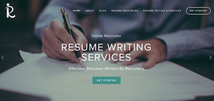 Inside Recruiter - Best Silicon Valley Resume Services